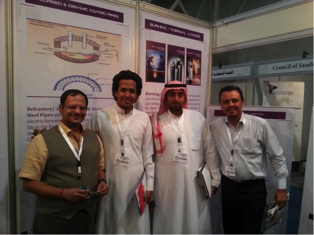 METAL STEEL SAUDI SUMMIT 2014 at Riyadh International Exhibition Centre in APRIL '14