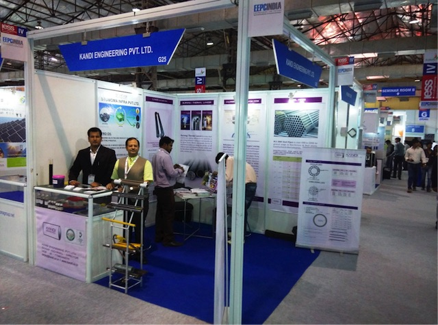 IESS IV HELD BY EEPC INDIA AT BOMBAY EXHIBITION CENTER, INDIA DURING DECEMBER 2014